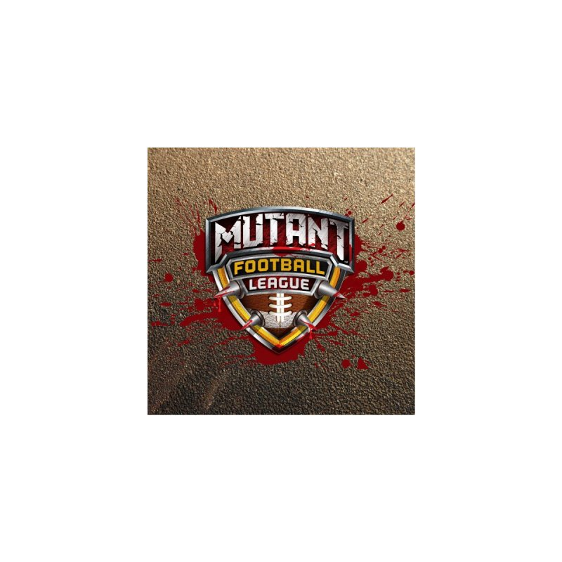 MFL Logo w/ splatter Men's Sweatshirt by Mutant Football League Team Store