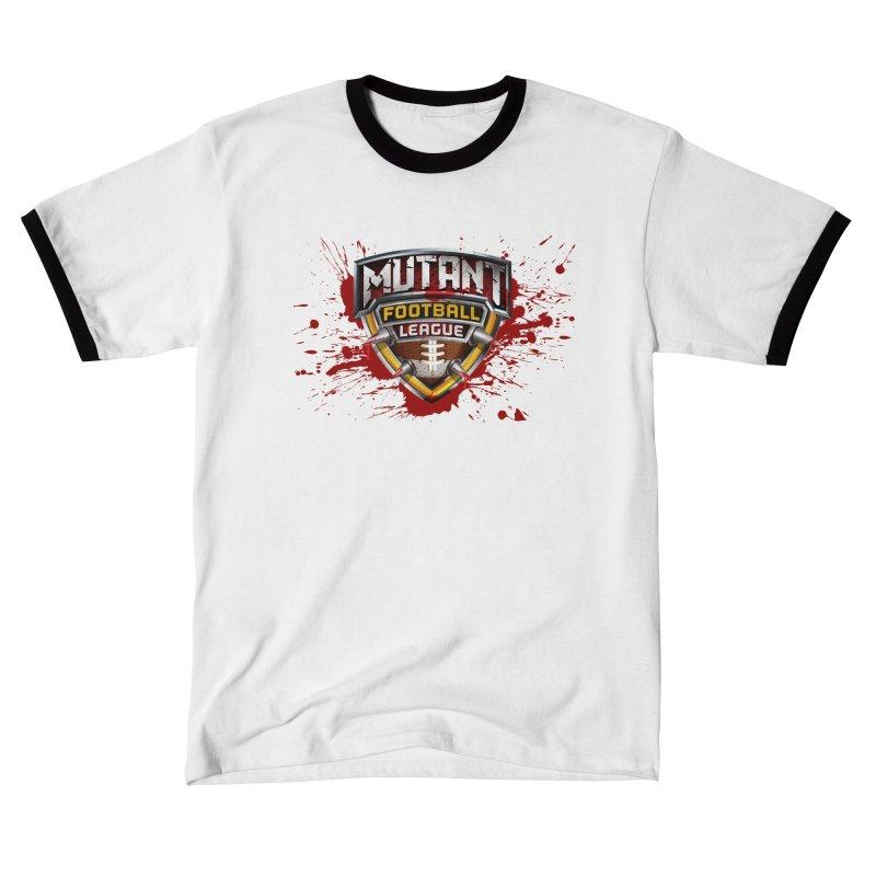 MFL Logo w/ splatter Women's T-Shirt by Mutant Football League Team Store
