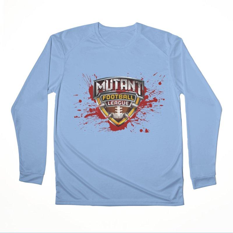 MFL Logo w/ splatter Women's Longsleeve T-Shirt by Mutant Football League Team Store