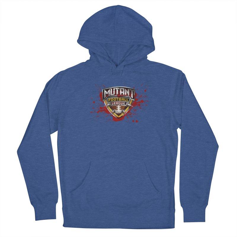 MFL Logo w/ splatter Men's Pullover Hoody by Mutant Football League Team Store