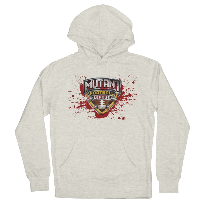 MFL Logo apparel Men's French Terry Pullover Hoody by Mutant Football League Team Store