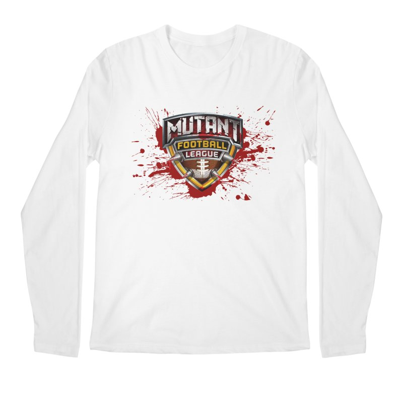 MFL Logo apparel Men's Regular Longsleeve T-Shirt by Mutant Football League Team Store