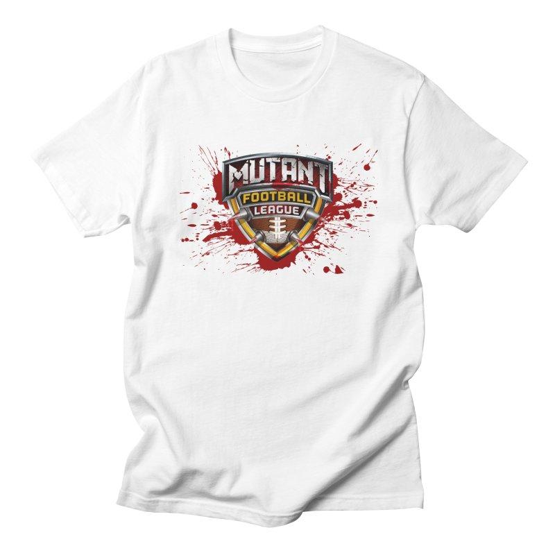 MFL Logo w/ splatter Men's T-Shirt by Mutant Football League Team Store