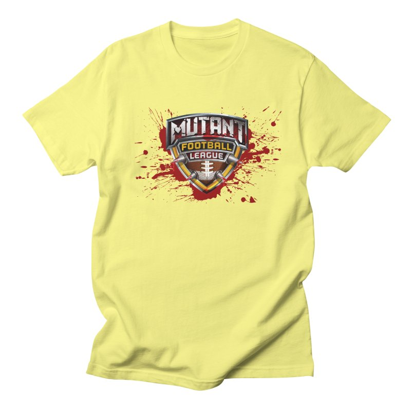 MFL Logo apparel Men's Regular T-Shirt by Mutant Football League Team Store
