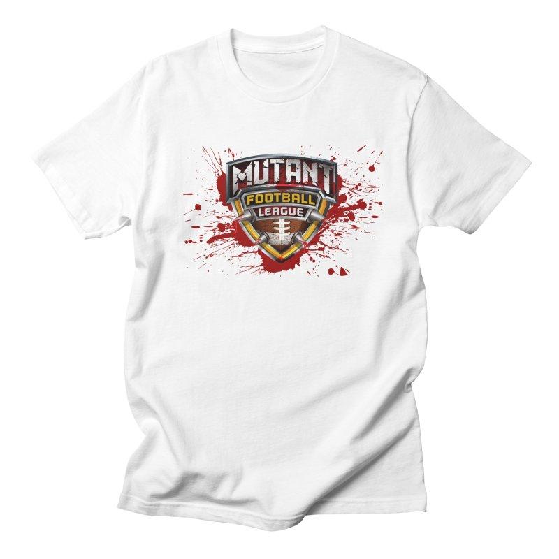MFL Logo apparel Women's Regular Unisex T-Shirt by Mutant Football League Team Store