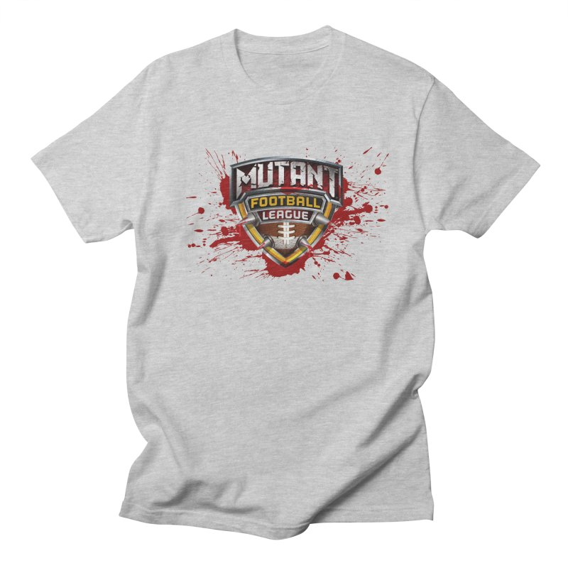 MFL Logo apparel Women's Regular Unisex T-Shirt by Mutant Football League Team Store