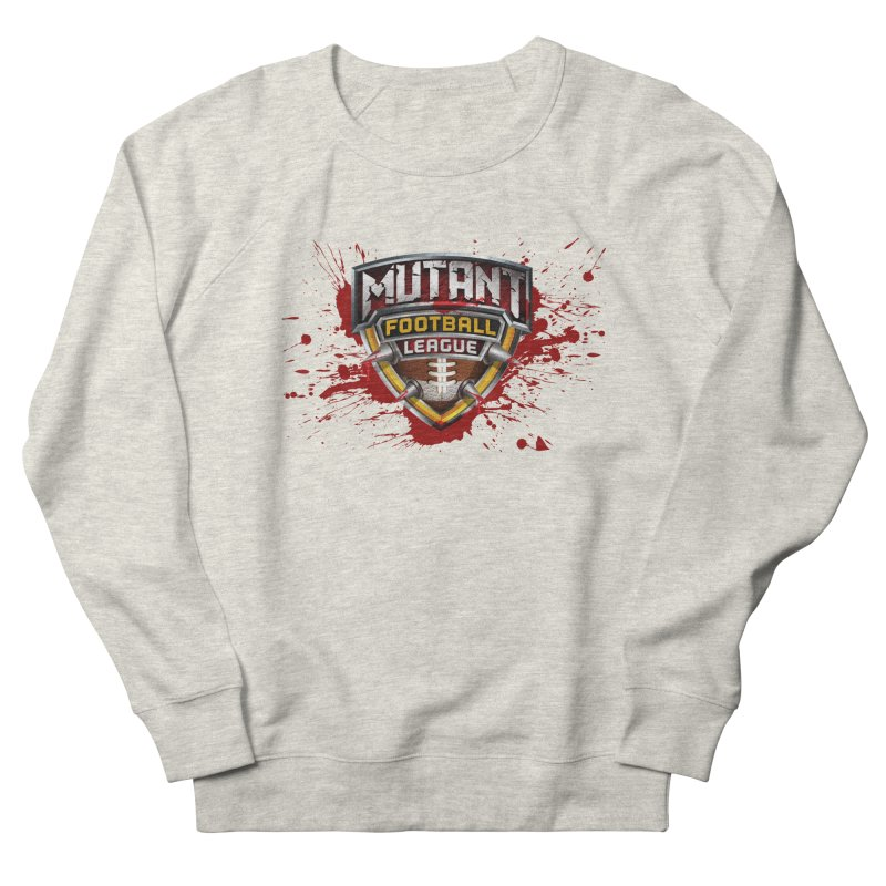 MFL Logo apparel Women's French Terry Sweatshirt by Mutant Football League Team Store