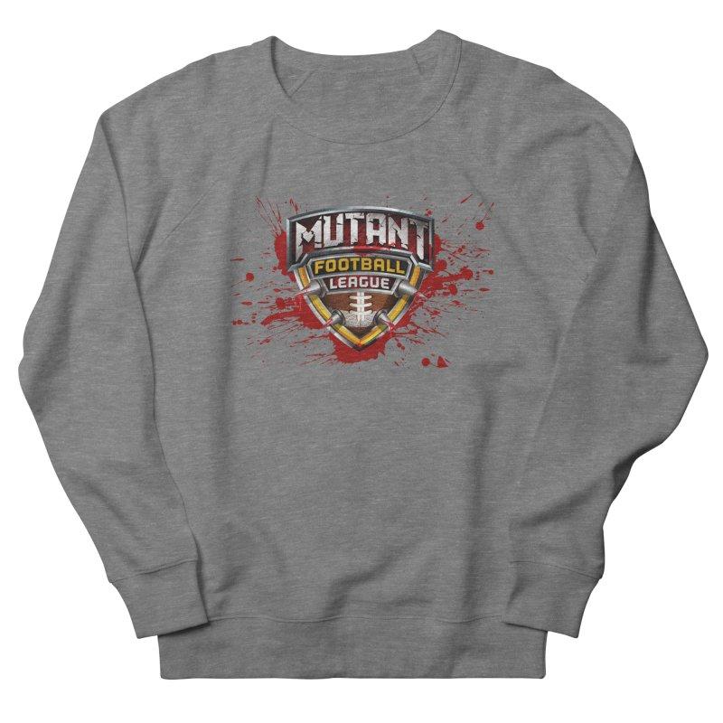 MFL Logo apparel Men's French Terry Sweatshirt by Mutant Football League Team Store