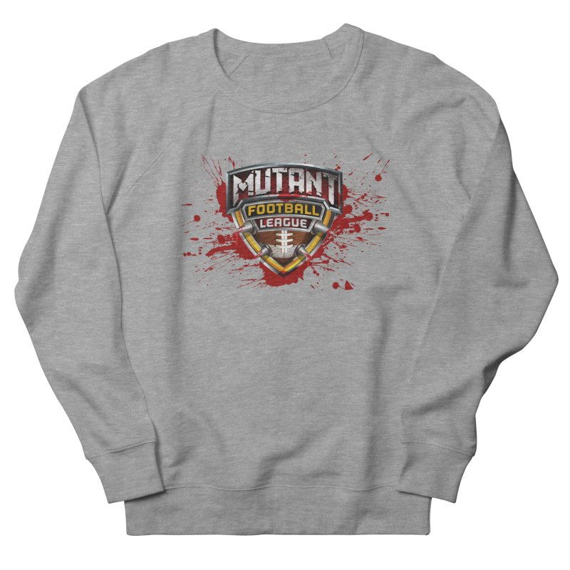 MFL Logo apparel Men's French Terry Sweatshirt by Mutant Football League Team Store