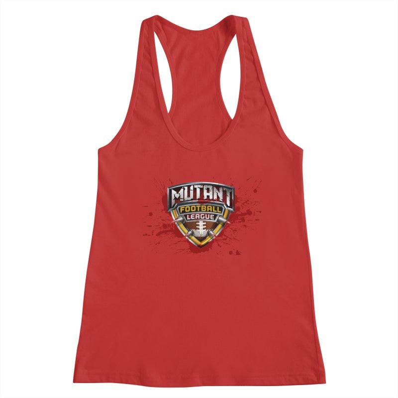 MFL Logo w/ splatter Women's Tank by Mutant Football League Team Store