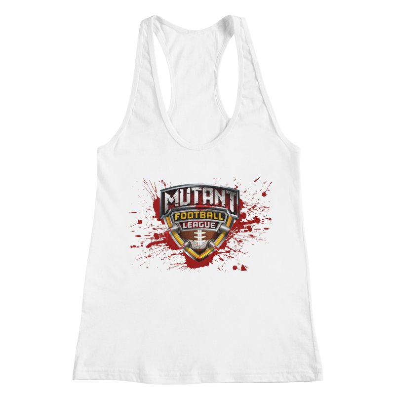 MFL Logo apparel Women's Racerback Tank by Mutant Football League Team Store