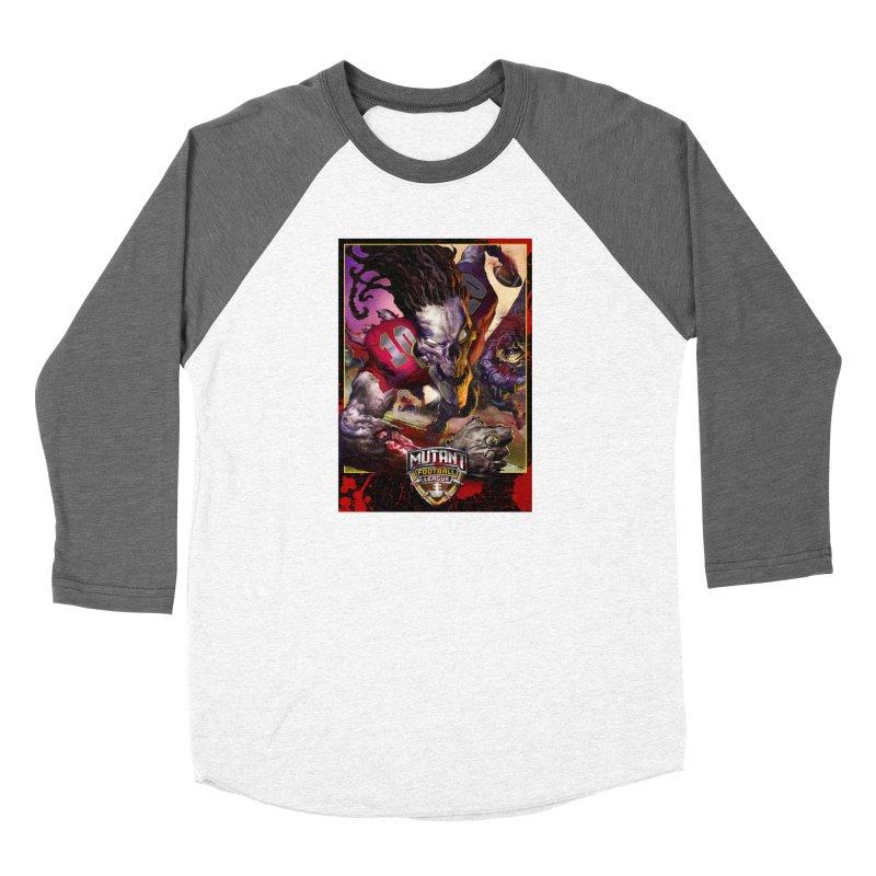 MFL Skeleton art Women's Longsleeve T-Shirt by Mutant Football League Team Store