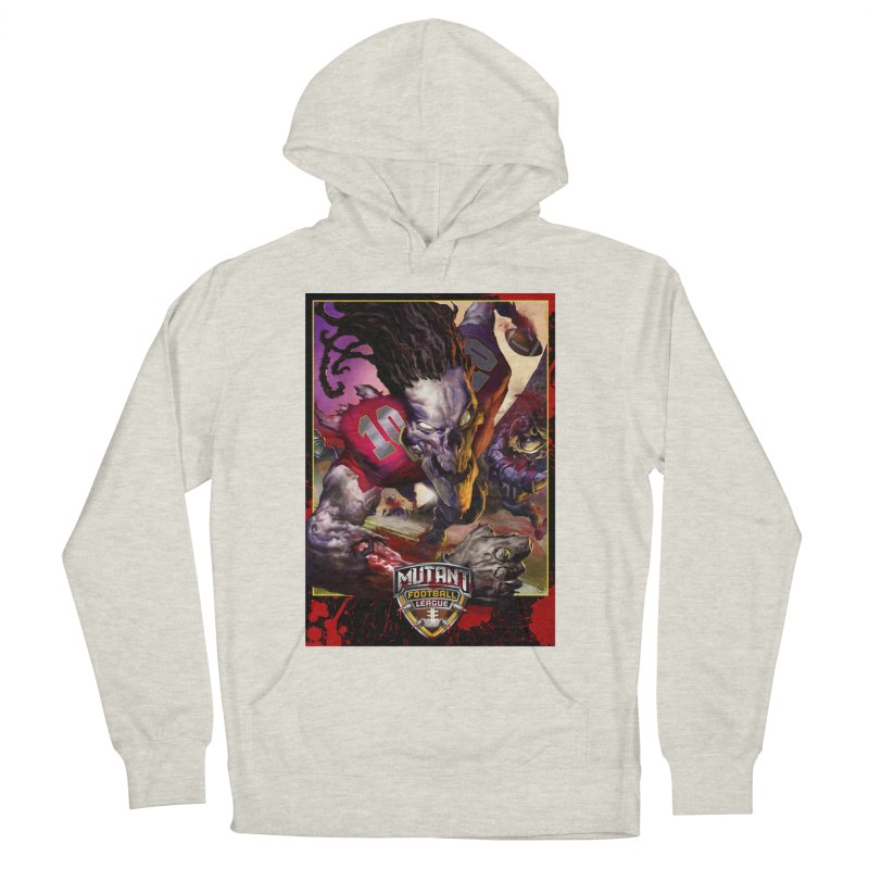 MFL Skeleton apparel Women's French Terry Pullover Hoody by Mutant Football League Team Store