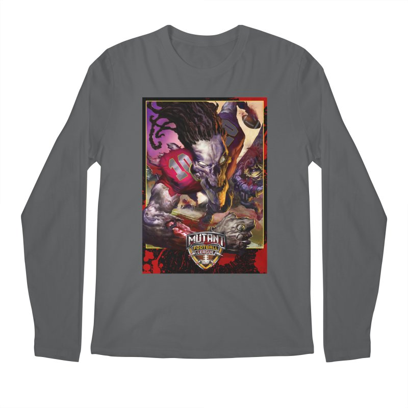 MFL Skeleton apparel Men's Regular Longsleeve T-Shirt by Mutant Football League Team Store