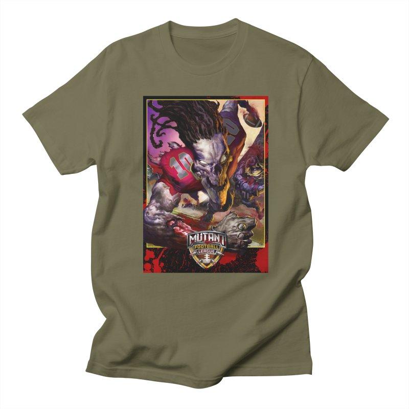 MFL Skeleton apparel Women's Regular Unisex T-Shirt by Mutant Football League Team Store