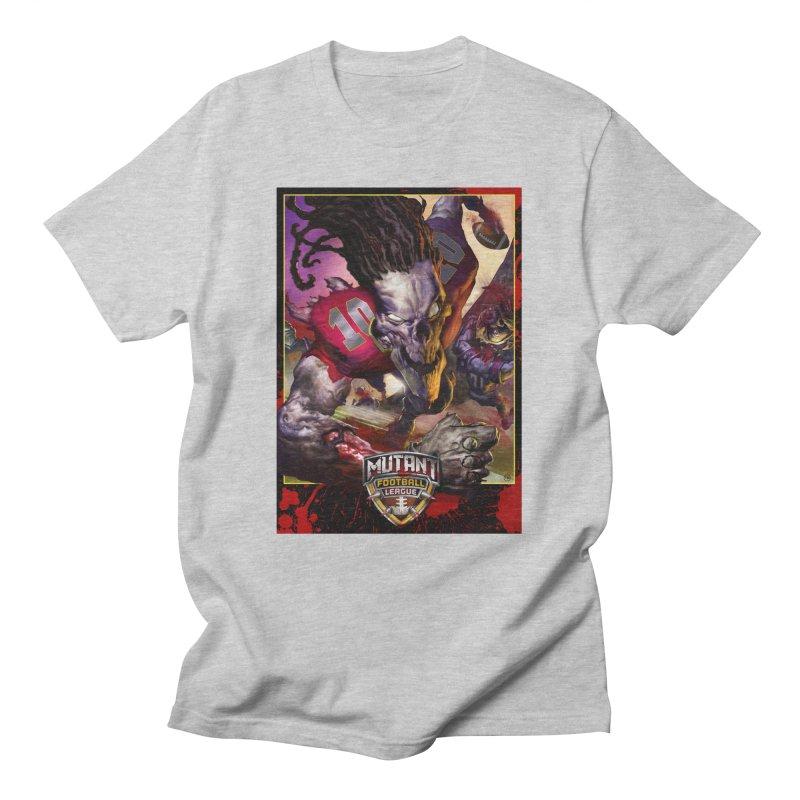 MFL Skeleton art Men's T-Shirt by Mutant Football League Team Store
