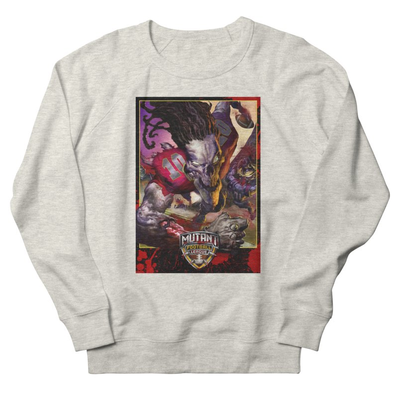 MFL Skeleton apparel Women's French Terry Sweatshirt by Mutant Football League Team Store