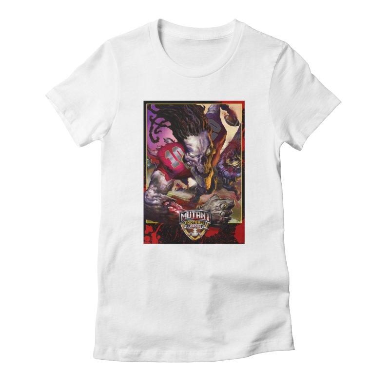 MFL Skeleton art Women's T-Shirt by Mutant Football League Team Store