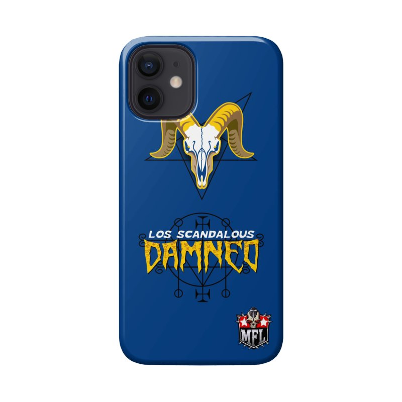 MFL Los Scandalous Damned logo Accessories Phone Case by Mutant Football League Team Store