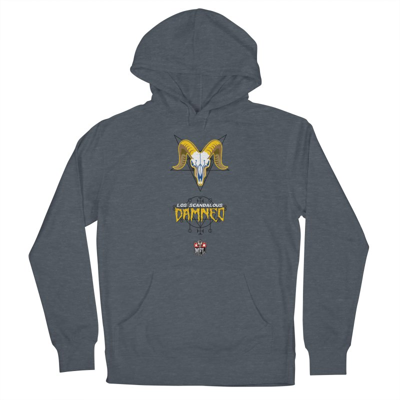 MFL Los Scandalous Damned apparel Women's French Terry Pullover Hoody by Mutant Football League Team Store
