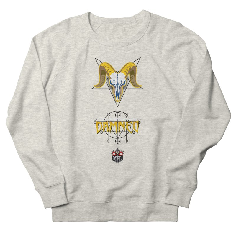 MFL Los Scandalous Damned logo Men's Sweatshirt by Mutant Football League Team Store