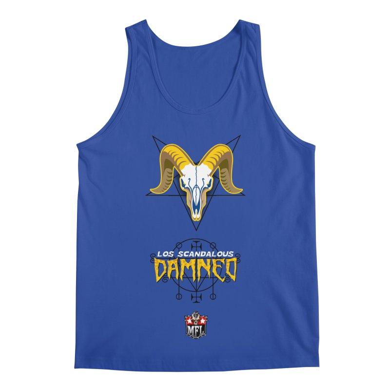 MFL Los Scandalous Damned apparel Men's Regular Tank by Mutant Football League Team Store