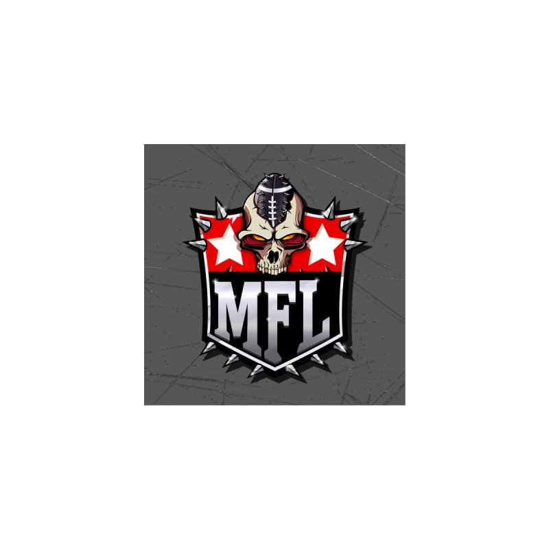 MFL Shield (scratch) Accessories Face Mask by Mutant Football League Team Store