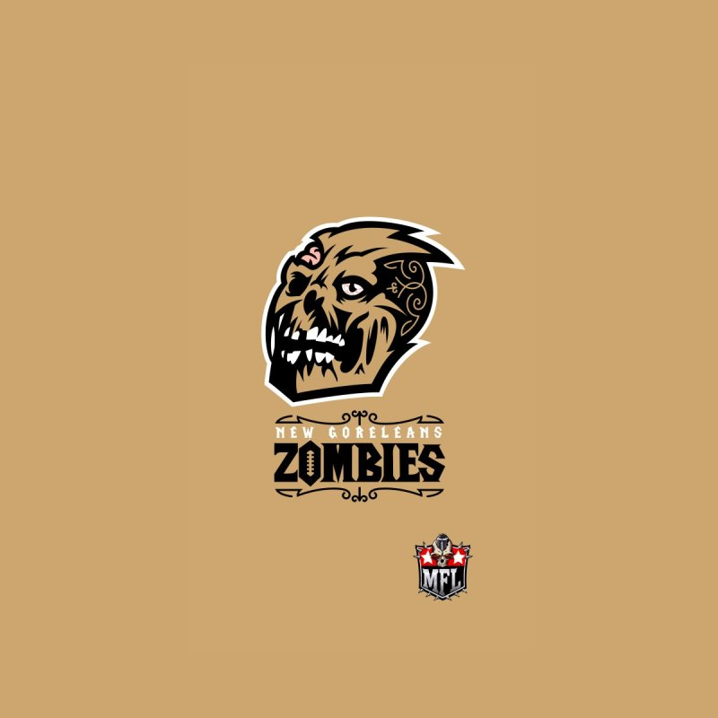 MFL New Goreleans Zombies phone case by Mutant Football League Team Store