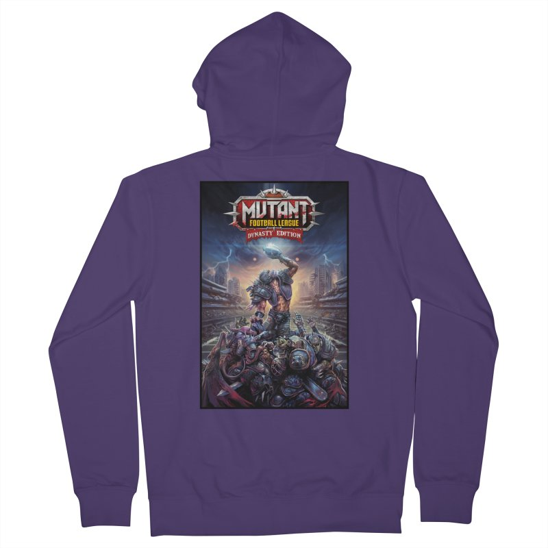 MFL Dynasty Edition art Women's Zip-Up Hoody by Mutant Football League Team Store