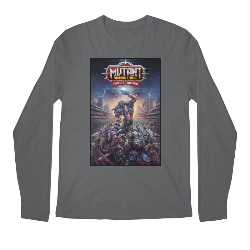 MFL Dynasty Edition art Men's Longsleeve T-Shirt by Mutant Football League Team Store