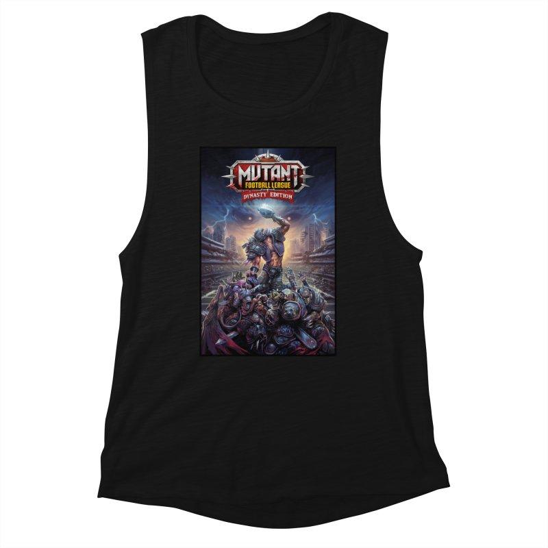 MFL Dynasty Edition art Women's Tank by Mutant Football League Team Store