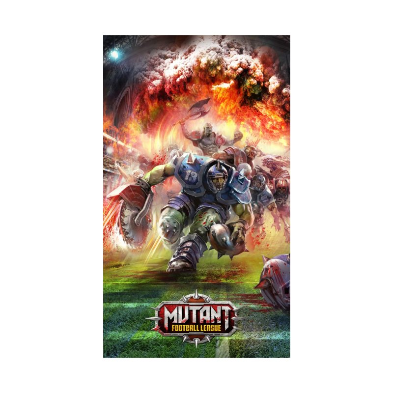 MFL Orc phone case by Mutant Football League Team Store