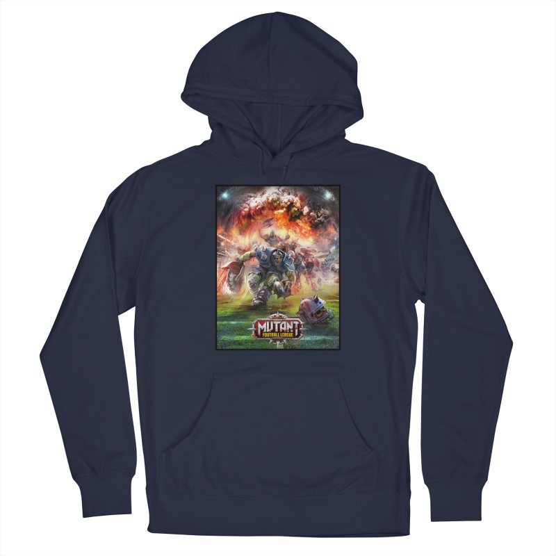 MFL Chainsaw art Men's Pullover Hoody by Mutant Football League Team Store