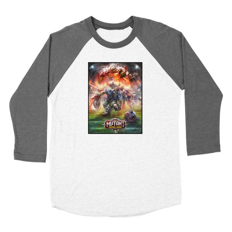 MFL Chainsaw art Women's Longsleeve T-Shirt by Mutant Football League Team Store