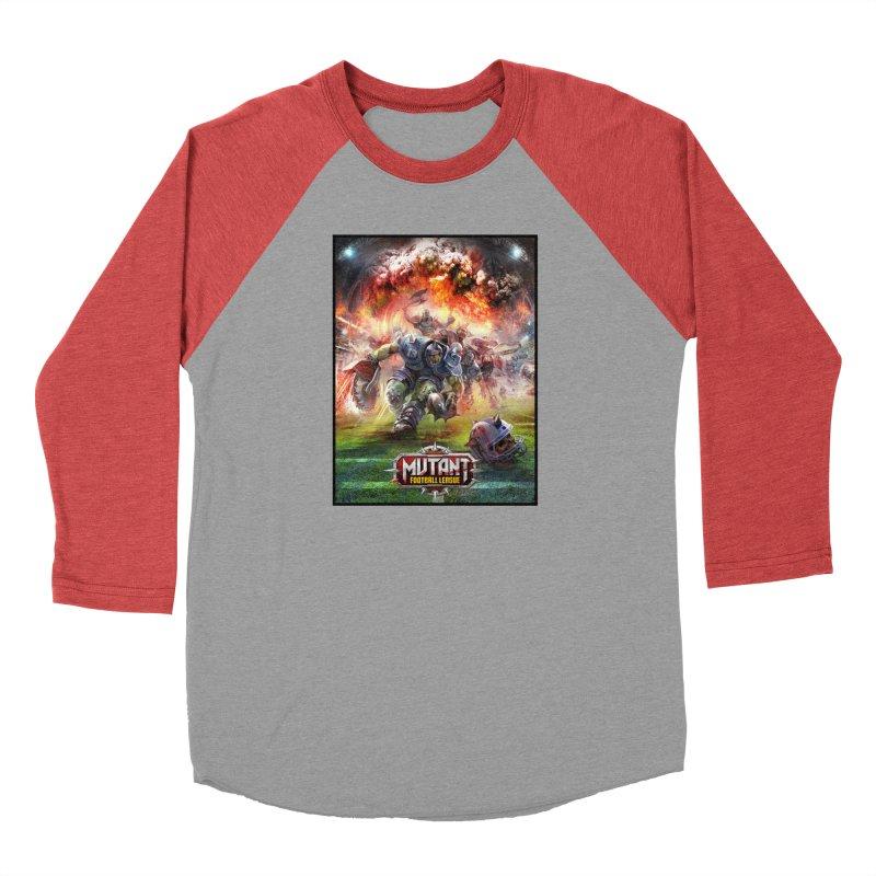 MFL Chainsaw art Men's Longsleeve T-Shirt by Mutant Football League Team Store