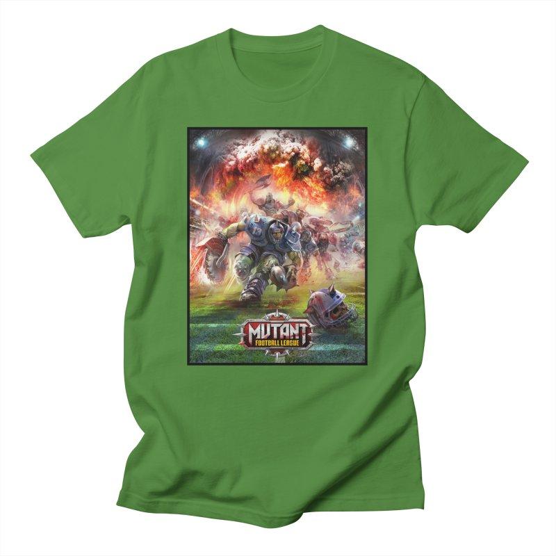MFL Chainsaw art Men's T-Shirt by Mutant Football League Team Store