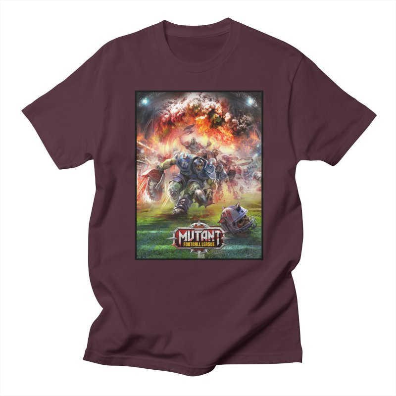 MFL Chainsaw art Men's T-Shirt by Mutant Football League Team Store