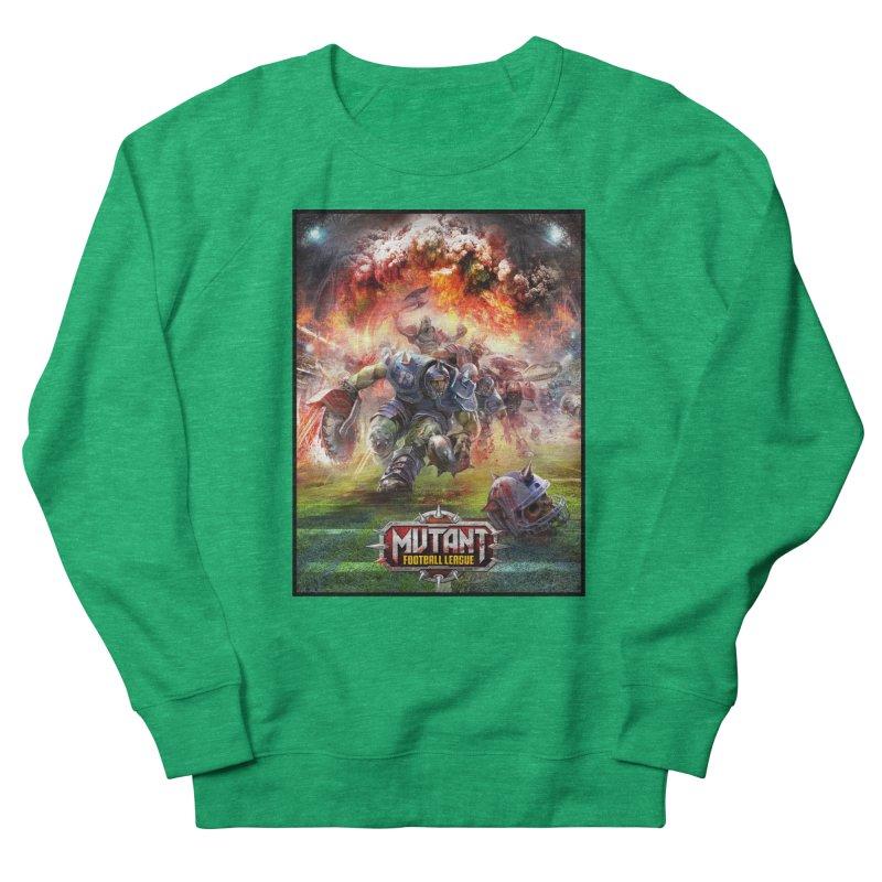 MFL Chainsaw art Women's Sweatshirt by Mutant Football League Team Store
