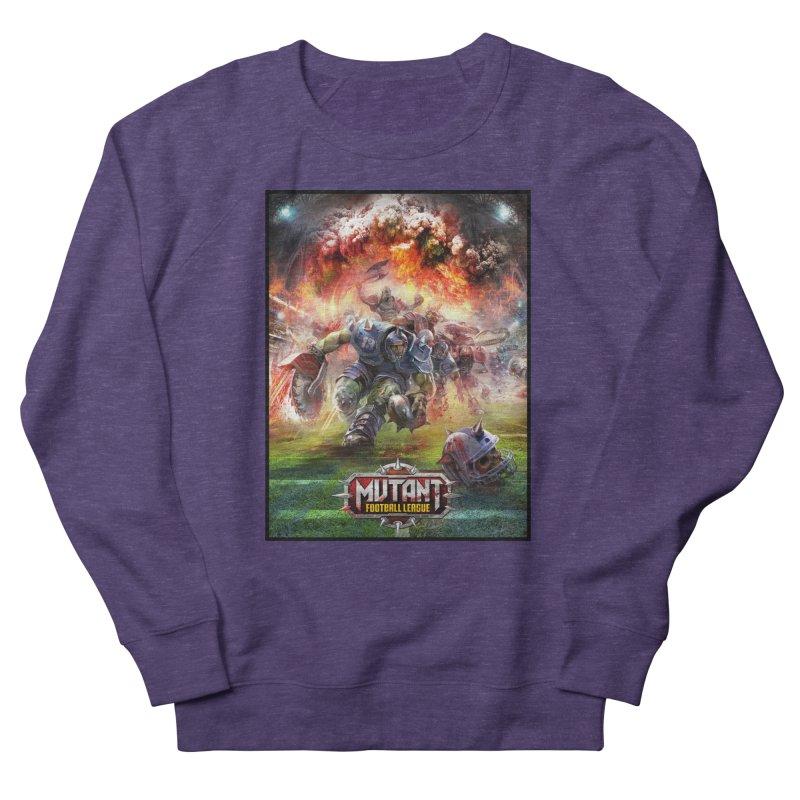 MFL Chainsaw art Men's Sweatshirt by Mutant Football League Team Store