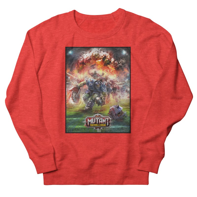 MFL Chainsaw art Men's Sweatshirt by Mutant Football League Team Store