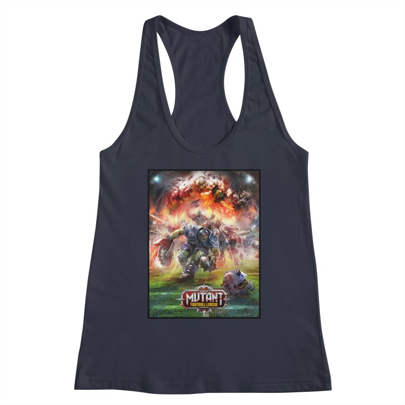 MFL Chainsaw art Women's Tank by Mutant Football League Team Store
