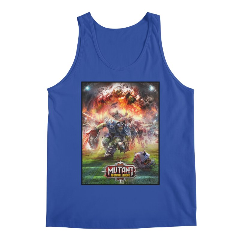 MFL Chainsaw art Men's Tank by Mutant Football League Team Store