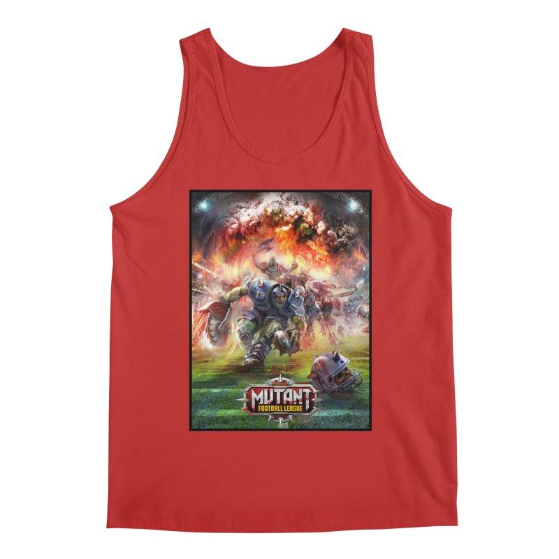 MFL Chainsaw art Men's Tank by Mutant Football League Team Store