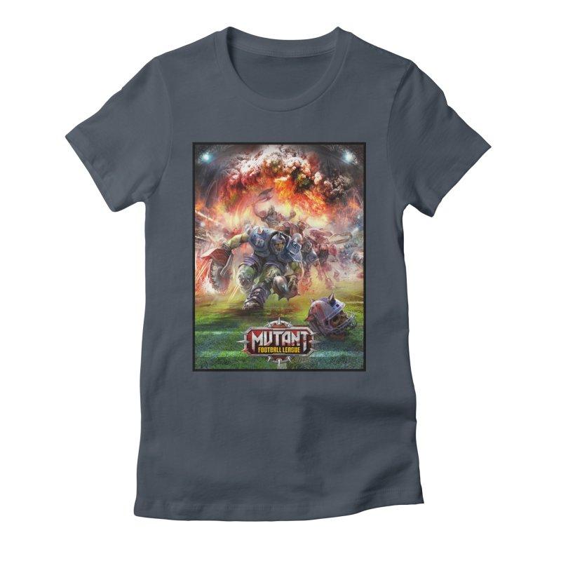 MFL Chainsaw art Women's T-Shirt by Mutant Football League Team Store