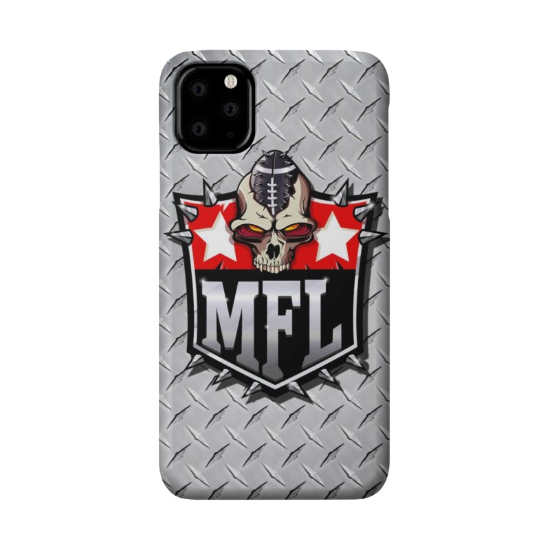 MFL Shield (diamond) Accessories Phone Case by Mutant Football League Team Store