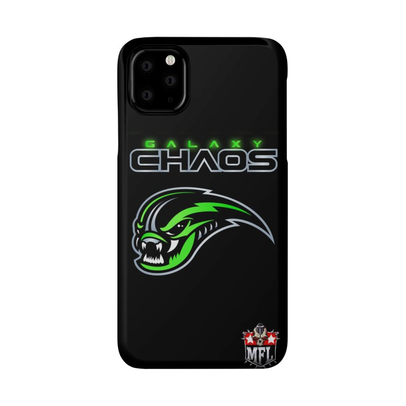 MFL Galaxy Chaos phone case Accessories Phone Case by Mutant Football League Team Store