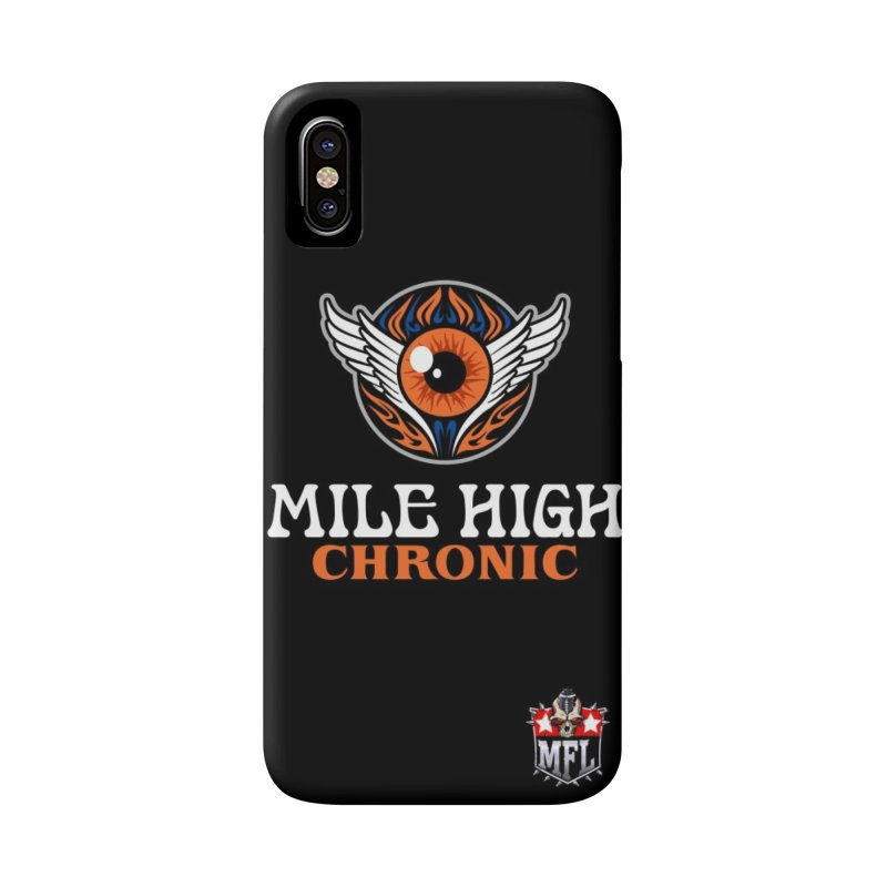 MFL Mile High Chronic phone case Accessories Phone Case by Mutant Football League Team Store