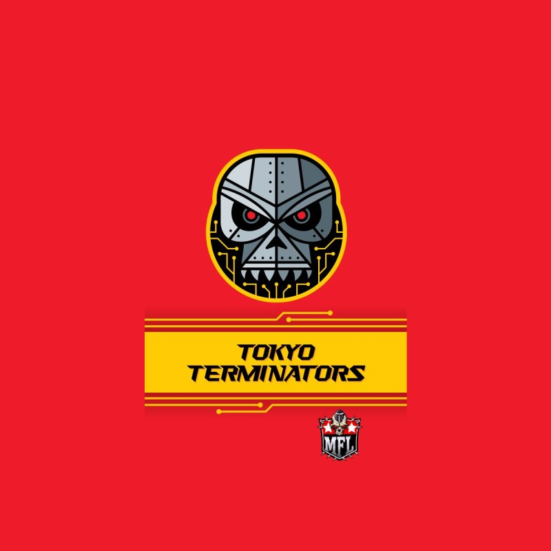MFL Tokyo Terminators phone case by Mutant Football League Team Store