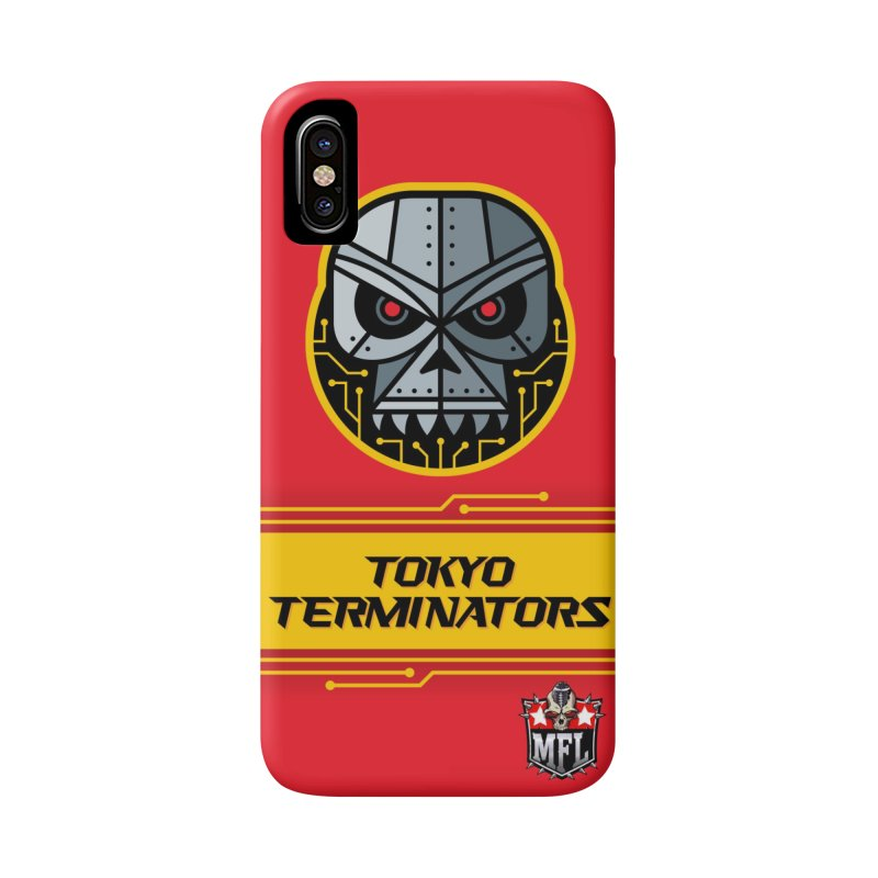 MFL Tokyo Terminators phone case Accessories Phone Case by Mutant Football League Team Store