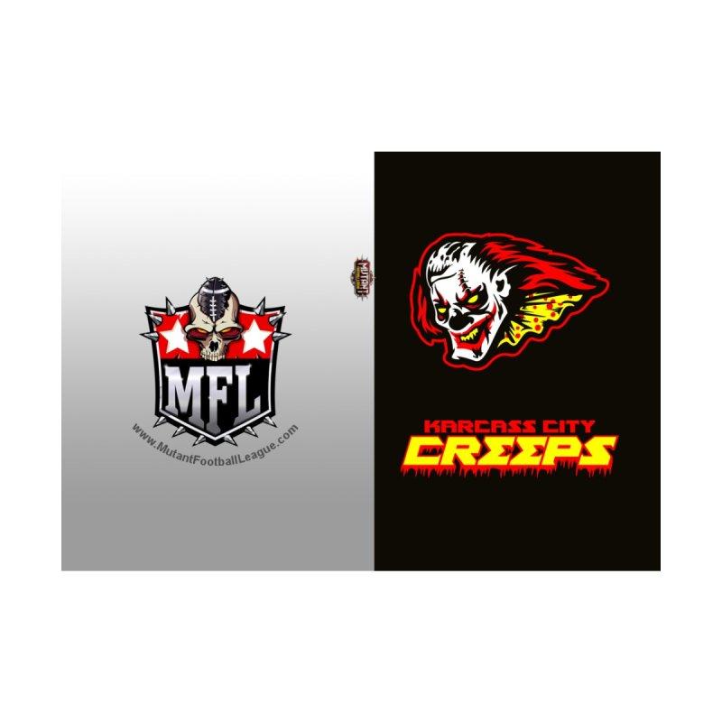 MFL Karcass City Creeps journal by Mutant Football League Team Store